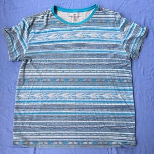American Eagle Outfitters Shirts - AEO—Aztec Stripe T-shirt